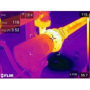 Câmera Térmica Termovisor 76.800 (320 x 240) pixels C/MSX E WIFI Flir e75