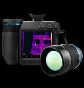 Câmera Termográfica de Alto Desempenho com Visor para Inspeções Externas Flir T840