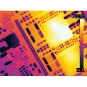 Câmera Termográfica de Bancada Sistema de Imagens Térmicas para Teste de Componentes Eletrônicos Flir ETS-320
