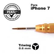 Chave Profissional Triwing 0.6mm P/ Abrir Iphone 7 E 7 Plus