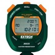 Cronômetro e Relógio Decimal a Prova de Água Extech 365535