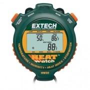 Cronômetro Umidade Temperatura HeatWatch ™ Extech HW30
