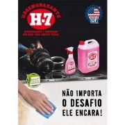 Desengraxante H-7 500ml - Removedor Multiuso Para Limpeza Pesada