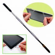 Espátula Aço Inox Dupla para Abrir Celular Tablet