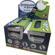 Higienizador de Bolso Clean Implastec - Caixa display com 50 unidades