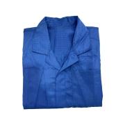 Jaleco Anti-Estático Azul Escuro