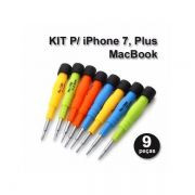 Kit 9pç Chave Precisão Profissional P/ Iphone Macbook