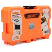 Kit Ferramentas Multifuncional 18 Peças Profissional Jakemy JM-9103