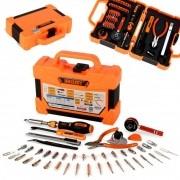 Kit Ferramentas Multifuncional 47 Peças Profissional Jakemy Jm-8146 (Caixa - Com 10 Kits)