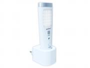 Luminária Led com Sensor e Lanterna Slim Solver SLM-301