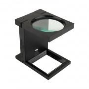 Lupa Conta Fios LED Solver SLF-190