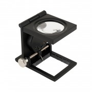 Lupa Conta-Fios Metal LED Solver SLF-130M