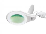 Lupa de Bancada com 4 Intensidades de Iluminação LED Solver HL-410 8X