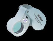 Lupa de Bolso LED/UV Solver SLD-131