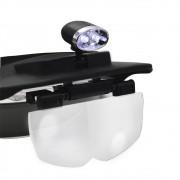 Lupa de Cabeça com LED Solver SLC-1009