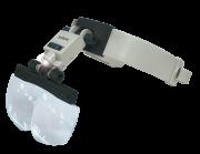 Lupa de Cabeça com Led Solver SLC-1010