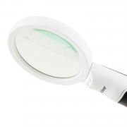 Lupa de Mão Dupla LED Solver SLP-185