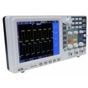 Osciloscópio Digital 100MHz 2 Canais Icel DSO-2012