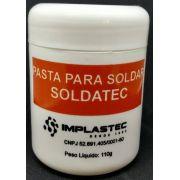 Pasta para Solda Soldatec Implastec Pote 110g