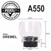 Protetor Acoplamento Capa De Proteção A550 P/ Dremel Micro Retifica