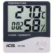 Relógio Termo-Higrômetro Digital Icel HT-195