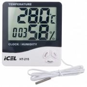 Relógio Termo-Higrômetro Digital Icel HT-215