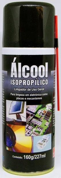Alcool Isopropilico em Aerossol Implastec 227ml  - MRE Ferramentas