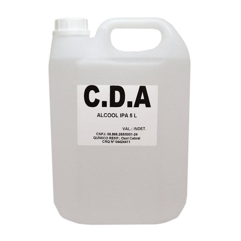 Álcool Isopropílico Isopropanol CDA Galão 5 Litros  - MRE Ferramentas