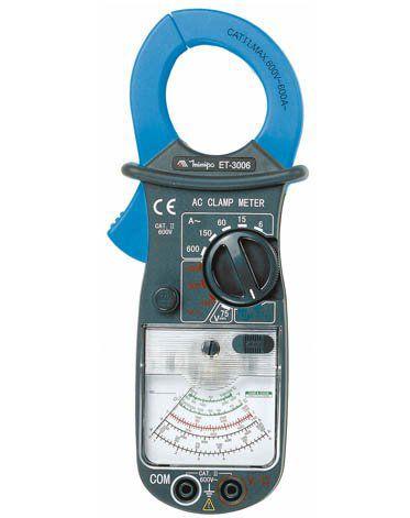 Alicate Amperímetro Analógico Minipa ET-3006  - MRE Ferramentas