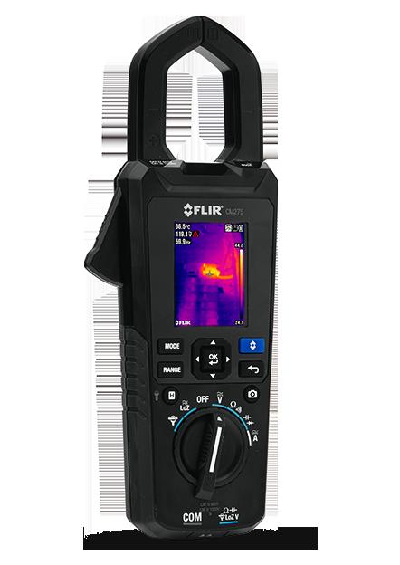 Alicate Amperímetro com Imagem Térmica e Conexão Wireless Flir CM275  - MRE Ferramentas