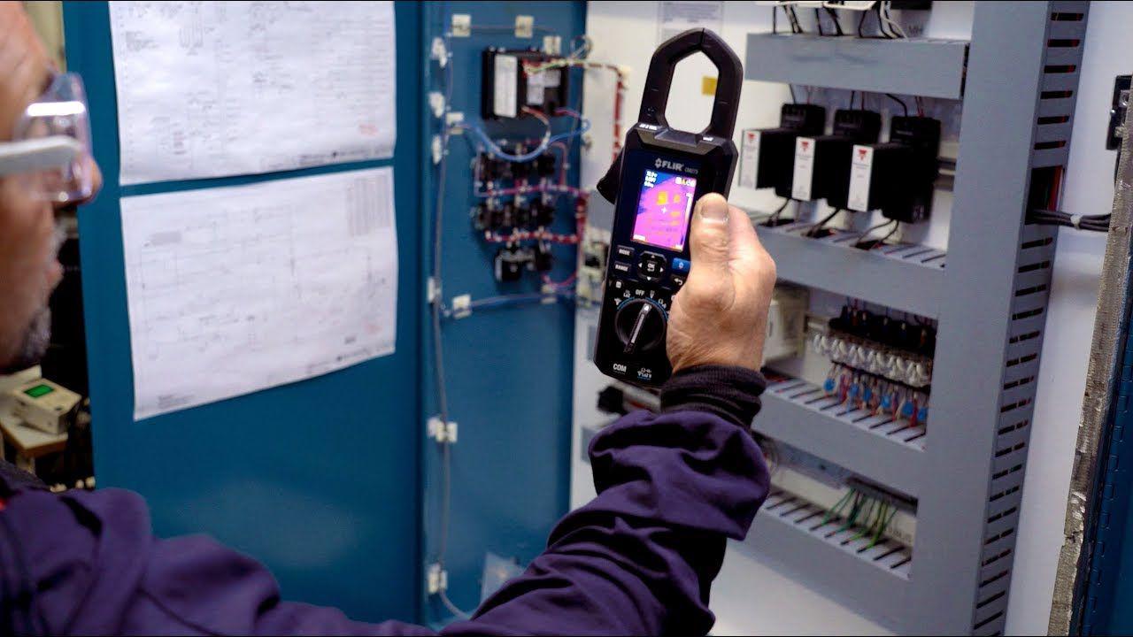 Alicate Amperímetro com Imagem Térmica e Conexão Wireless Flir CM-275  - MRE Ferramentas