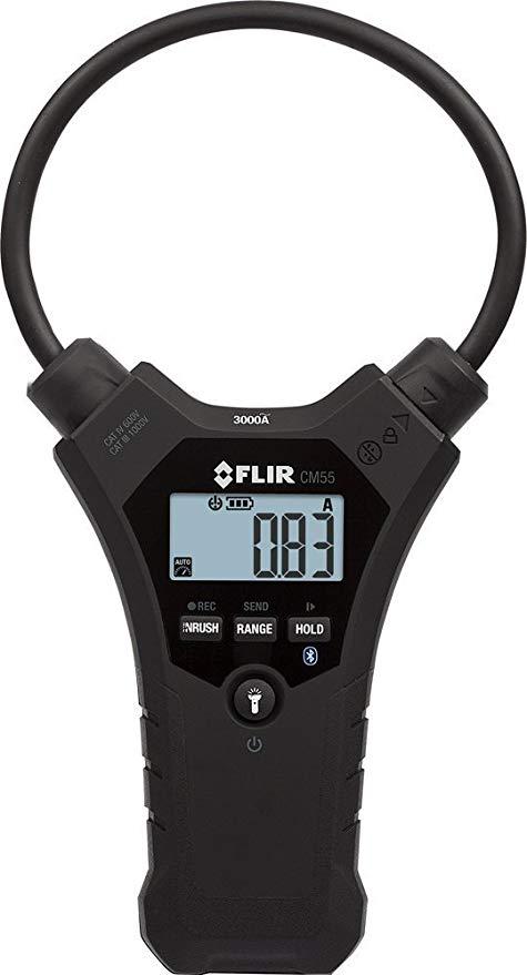 Alicate Amperímetro de Garra Flexível 10 Polegadas Flir CM55  - MRE Ferramentas