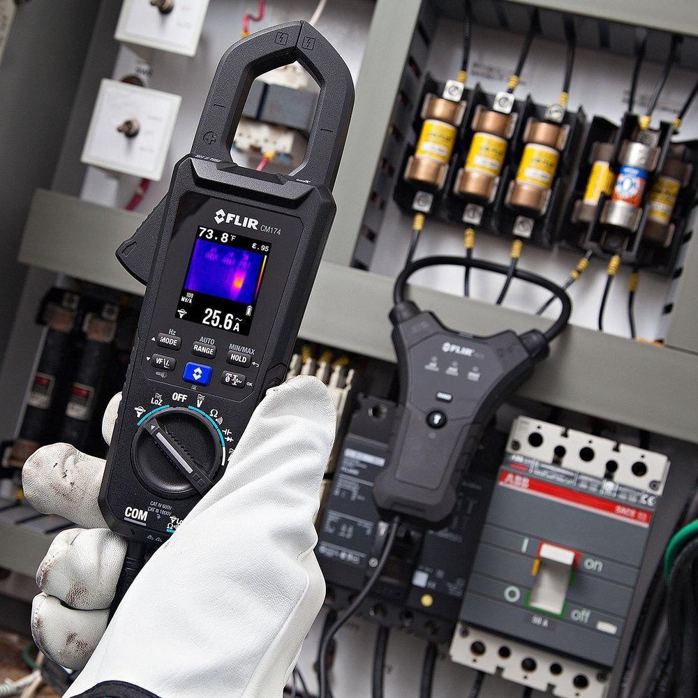 Alicate Amperímetro IGM™ Digital Flir CM174  - MRE Ferramentas