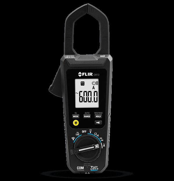 Alicate Amperímetro Digital Flir CM72  - MRE Ferramentas