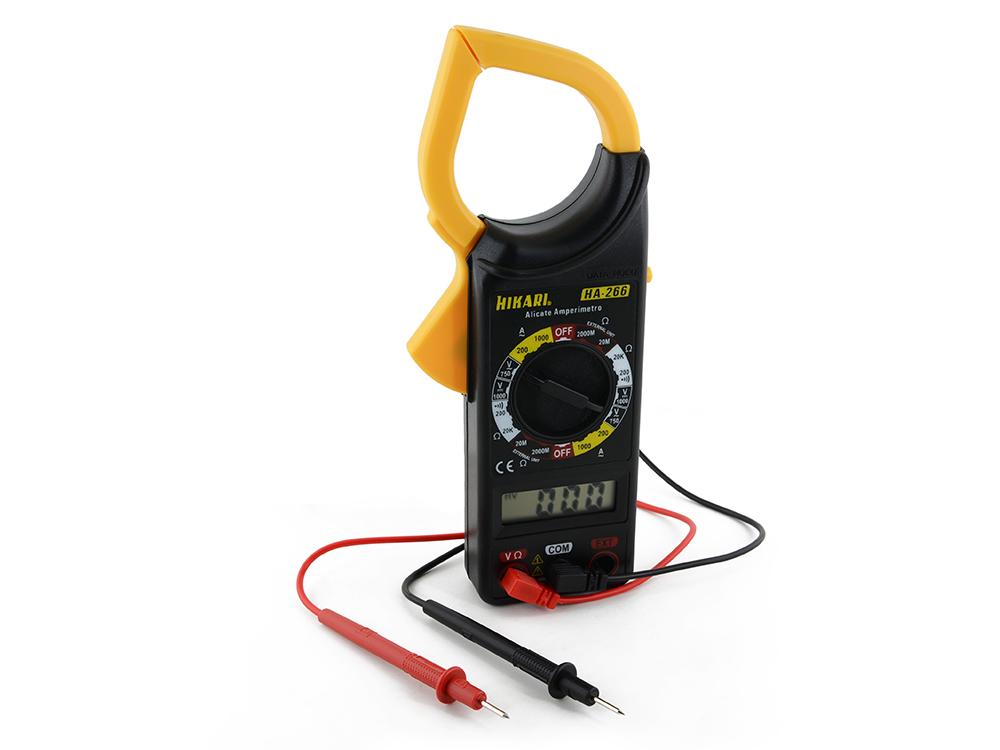 Alicate Amperímetro Digital Hikari HA-266  - MRE Ferramentas