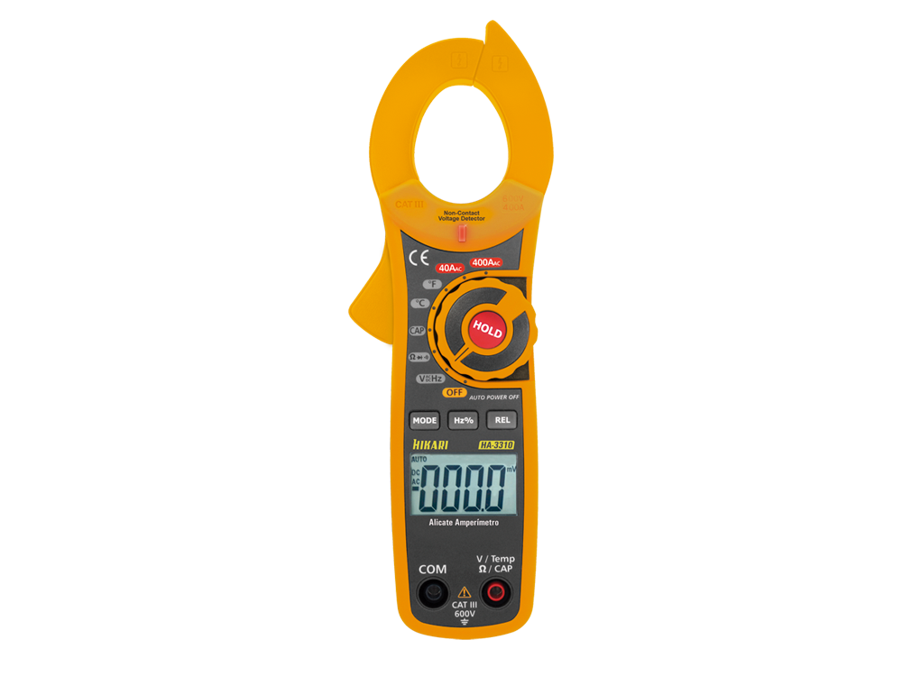 Alicate Amperímetro Digital Hikari HA-3310  - MRE Ferramentas