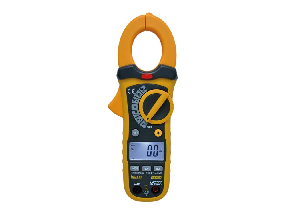 Alicate Amperímetro Digital Hikari HA-3320  - MRE Ferramentas