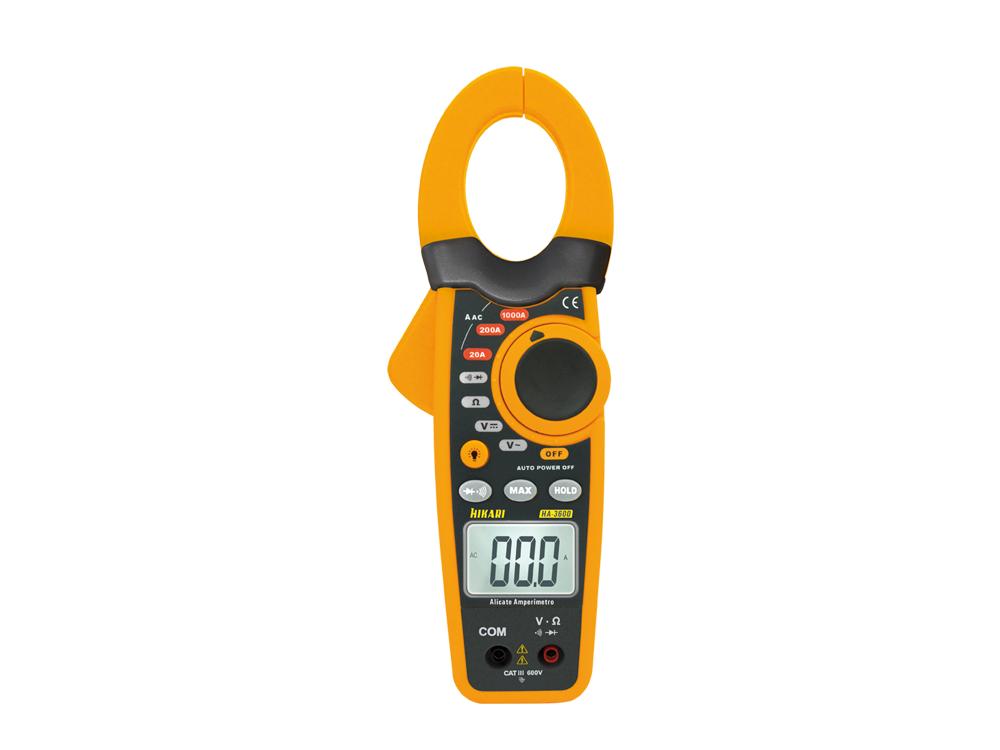 Alicate Amperímetro Digital Hikari HA-3600  - MRE Ferramentas