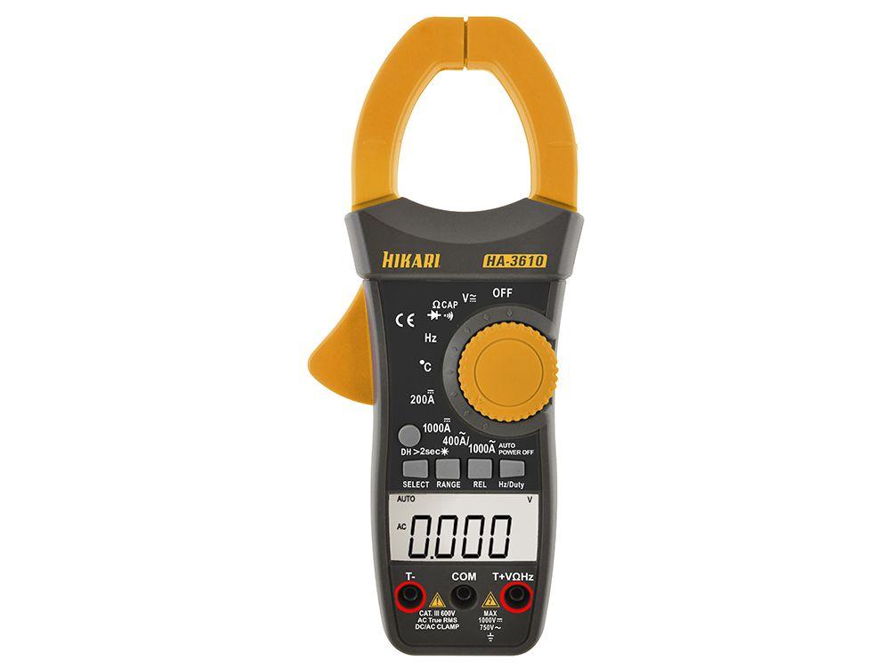 Alicate Amperímetro Digital Hikari HA-3610  - MRE Ferramentas