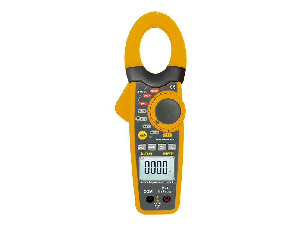 Alicate Amperímetro Digital Hikari HA-3660  - MRE Ferramentas