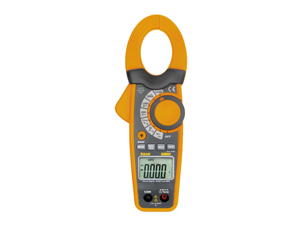 Alicate Amperímetro Digital Hikari HA-3700  - MRE Ferramentas