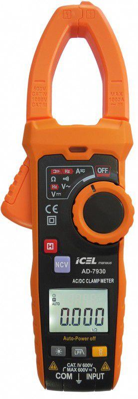 Alicate Amperímetro Digital Icel AD-7930  - MRE Ferramentas