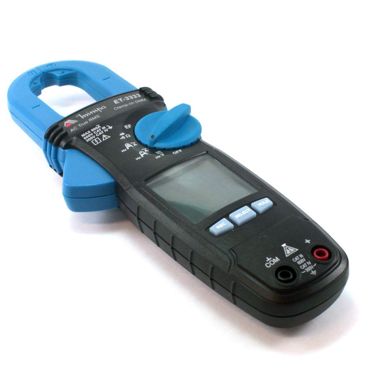 Alicate Amperímetro Digital Minipa ET-3333  - MRE Ferramentas