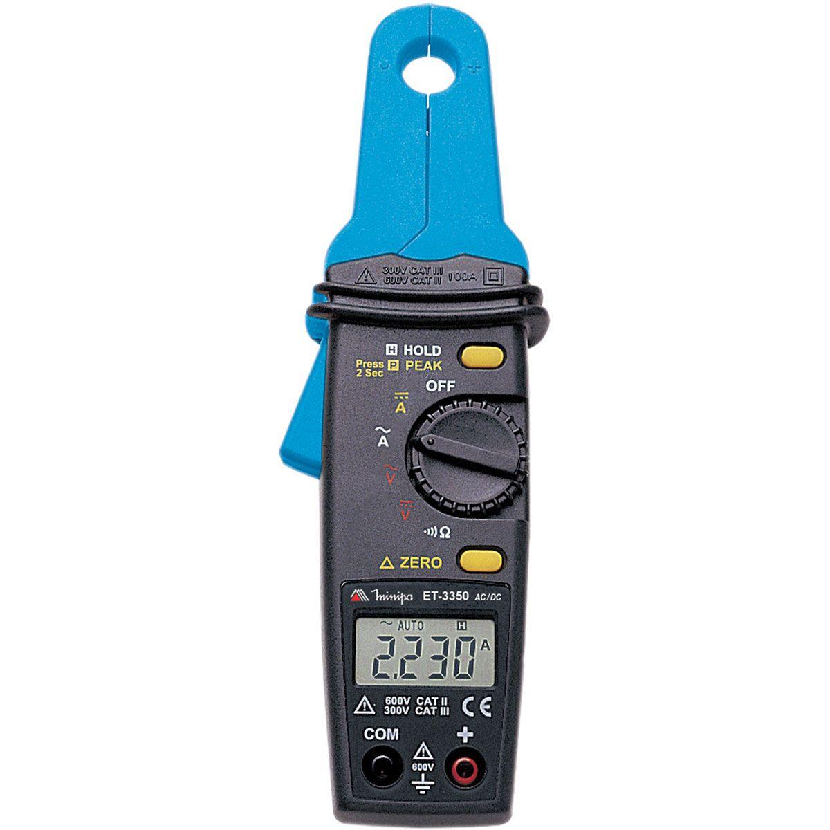 Alicate Amperímetro Digital Minipa ET-3350  - MRE Ferramentas