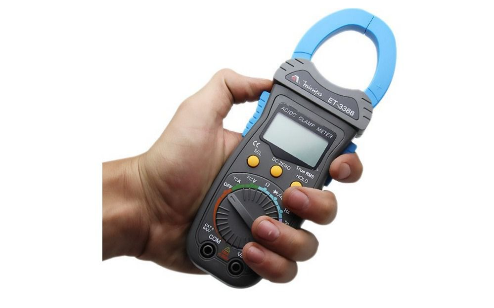 Alicate Amperímetro Digital Minipa ET-3388  - MRE Ferramentas