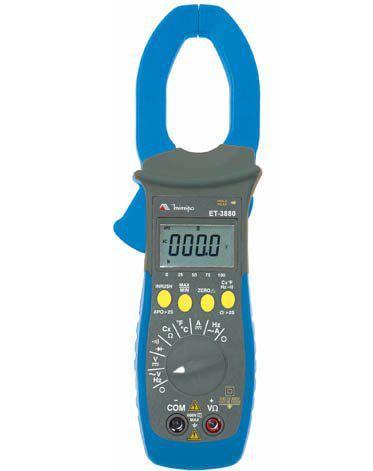 Alicate Amperímetro Digital Minipa ET-3880  - MRE Ferramentas