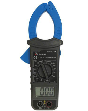 Alicate Amperímetro Minipa ET-3111  - MRE Ferramentas