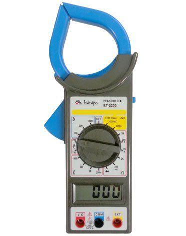 Alicate Amperímetro Minipa ET-3200  - MRE Ferramentas