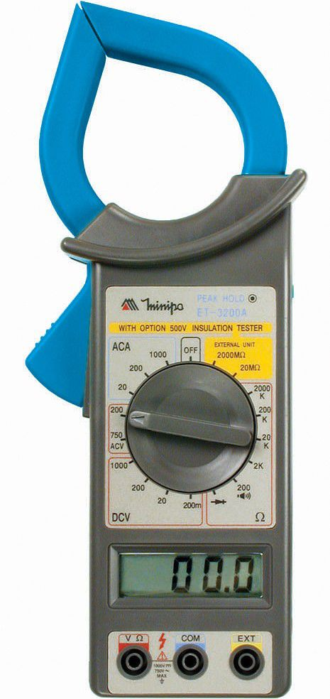 Alicate Amperímetro Minipa ET-3200A  - MRE Ferramentas