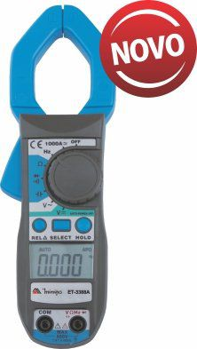 Alicate Amperímetro Minipa ET-3388A  - MRE Ferramentas